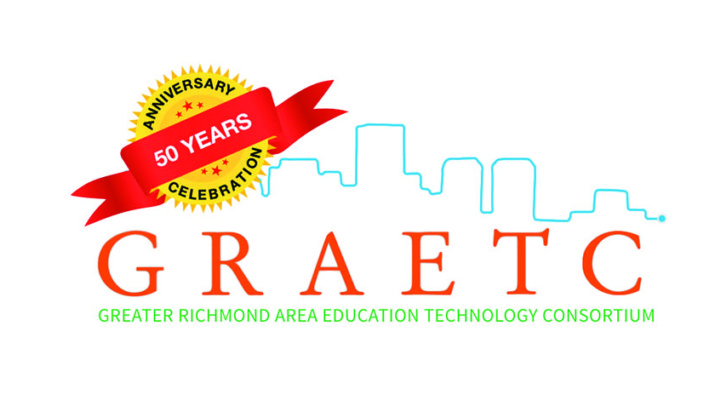 Logo for 50 year anniversary of GRAETC.